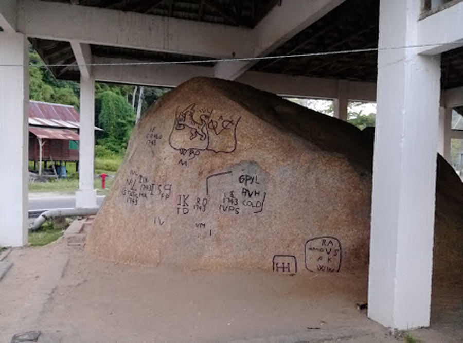 Batu Bersurat Pangkor Island
