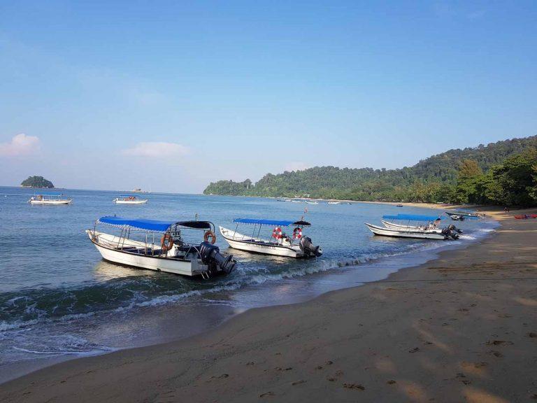 Pasir Bogak Beach Pangkor Island.