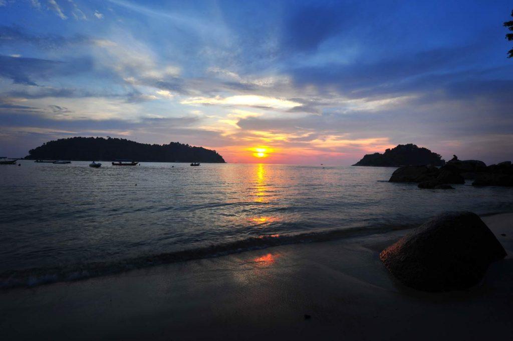 Teluk Nipah Beach Pangkor Island - Sunset