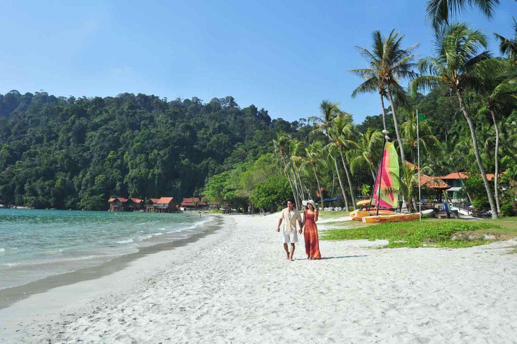 Beach in Pangkor Island