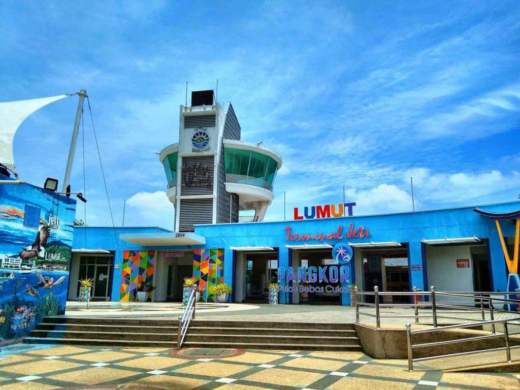 Lumut Jetty - Gateway to Pangkor Island