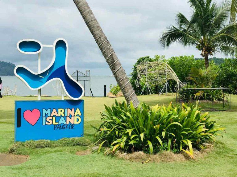 Marina island Pangkor