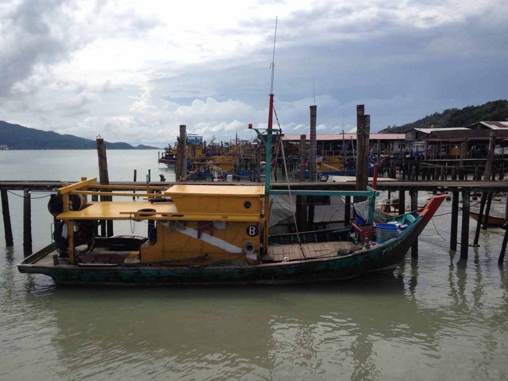 Fishing Village in Pangkor Island