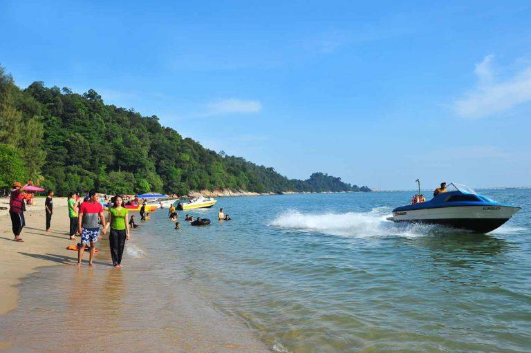 Teluk Batik Beach, Lumut, Perak, Malaysia.