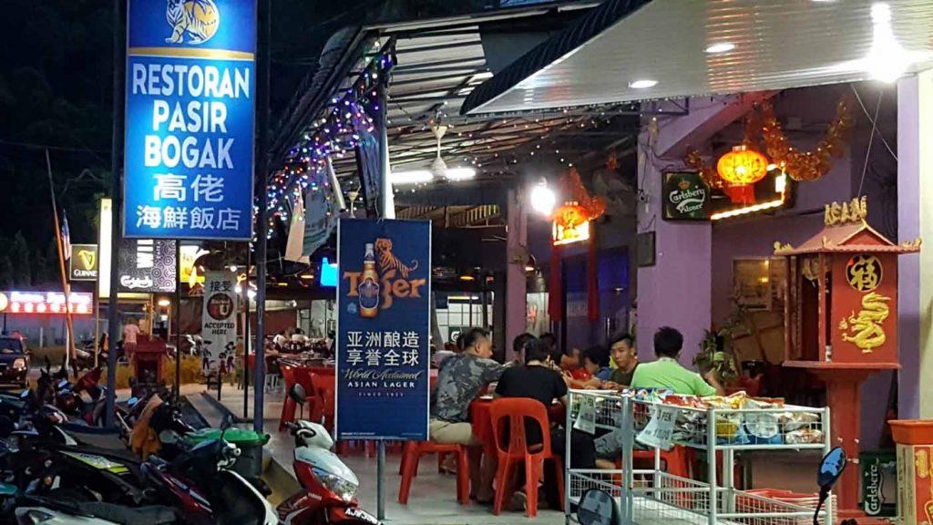 Restoran Pasir Bogak 高佬海鲜饭店 - Pangkor Island