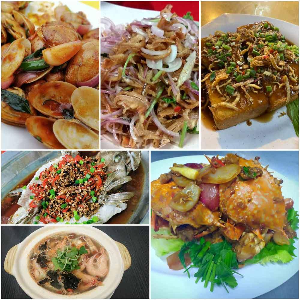 Seafood on Pangkor Island