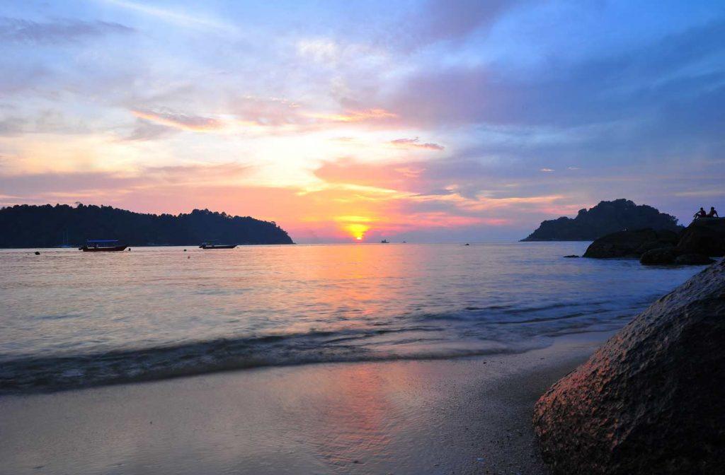 Teluk Nipah Beach - Sunset