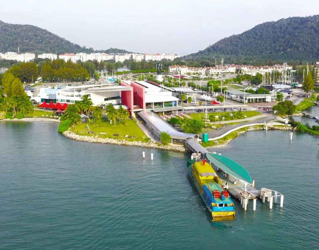 Marina Island Jetty Complex